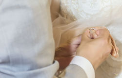 Ring, Groom, Bride Royalty Free Stock Images