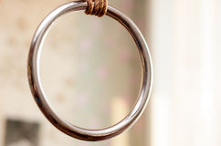 Ring for hanging shibari Stock Image