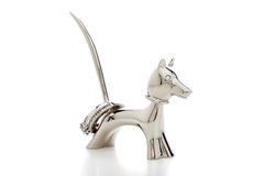 Ring holder bobble head dog Stock Image