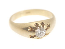 Ring isolated Stock Photography