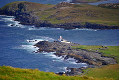 The ring of Kerry. Breathtaking view on Valentia Island Lighthouse, co. Kerry. Ireland Royalty Free Stock Images