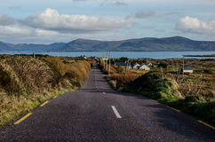 Road to the sea Royalty Free Stock Photos