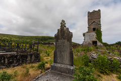 Ring of kerry cemetery Royalty Free Stock Photography