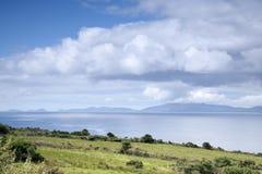 Ring of Kerry Coast with Dingle Peninsula Royalty Free Stock Image