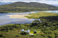 Ring of Kerry, Derrynane, Ireland. Royalty Free Stock Photography