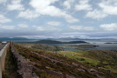 Ring of kerry drive Royalty Free Stock Image