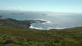 Ring of Kerry stock footage