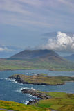 The Ring of Kerry. Ireland. The Ring of Kerry is very beautiful coastal, mountain, cliffs and small town atmosphere in county Kerry. Ireland Stock Photos