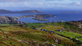 Ring of Kerry overlooking Valentia Stock Images