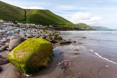Ring of Kerry Rossbehy Beach stock photography