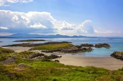 The Ring of Kerry, view to the atlantic ocean. Ireland, Europe Royalty Free Stock Photography