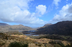 Ring of Kerry& x27;s Scenic Ladies View in Ireland Royalty Free Stock Images