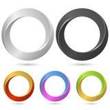 Ring loop sign Royalty Free Stock Image