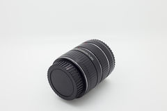 Ring Macro Extension rör som används för makrofotografi på Royaltyfri Fotografi