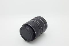 Ring Macro Extensions-Rohr an benutzt für Makrophotographie Lizenzfreie Stockfotografie