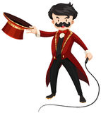 Ring master with whip Stock Images