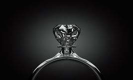 Ring met diamant royalty-vrije stock fotografie