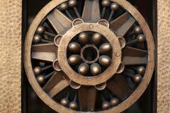 Ring of metallic grating Stock Photo