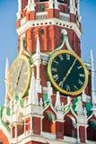 Ring Moscowen Kremlin arkivbilder