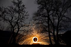 Free Ring Of Fire Stock Photography - 30881182