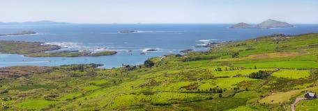 Ring Of Kerry Panoramic View Stock Photos