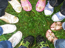 Free Ring Of Legs Stock Image - 13225681