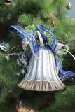 Ring op Kerstmisboom Stock Afbeeldingen