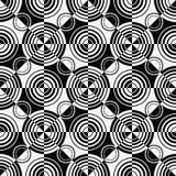Ring Pattern sans couture Photo libre de droits