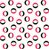 Ring Pattern sans couture Images stock