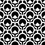 Ring Pattern sans couture Photo stock