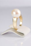 Ring with pearl Stock Photo