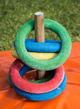 Ring Peg Game Stock Images