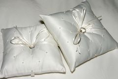 Ring Pillows Stock Photography