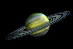 Ring planet Royalty Free Stock Image