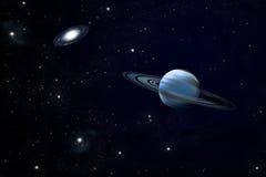Ring planet Stock Image