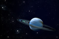 Ring planet Stock Photo