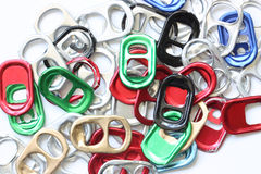 Ring-pull. Royalty Free Stock Image