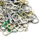 Ring pull can opener Royalty Free Stock Image