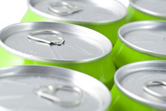 Ring-pull cans Royalty Free Stock Images