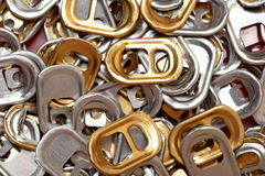 Ring-pulls Royalty Free Stock Image