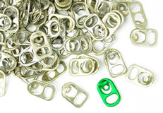 Ring pulls Stock Photography