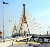 Ring Road Bridge, Bangkok Royalty Free Stock Photos