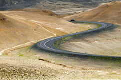 Ring road, Iceland stock photography
