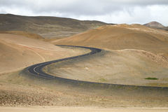 Ring road in Iceland Royalty Free Stock Image