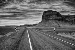 Ring road of Iceland Stock Photography