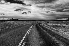 Ring road of Iceland Royalty Free Stock Image