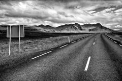 Ring road of Iceland Stock Photos