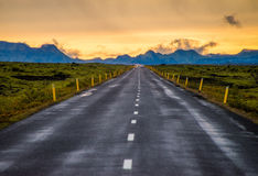 Ring road  of Iceland Stock Photo