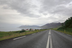 Ring Road Northern Iceland. The Ring Road in the Northern part of Iceland Stock Images
