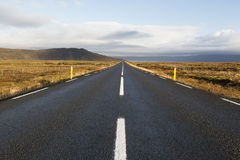 Ring road or 1 road of Iceland Royalty Free Stock Photo